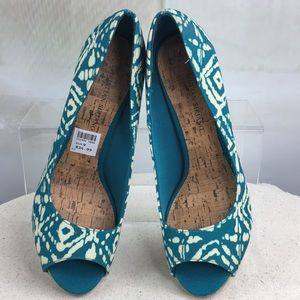 Christian Siriano for Payless Turquoise Pumps